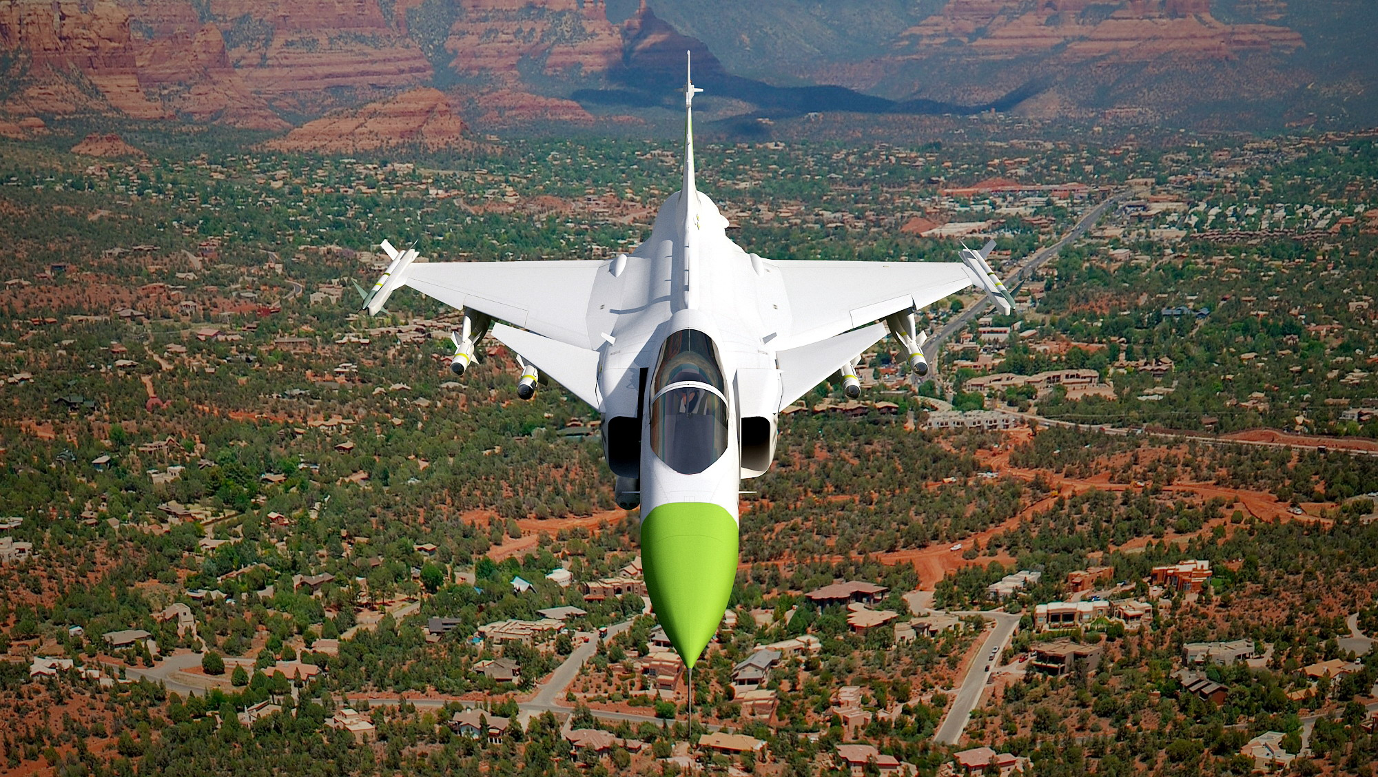 3D Visualisering av Jas 39 Gripen