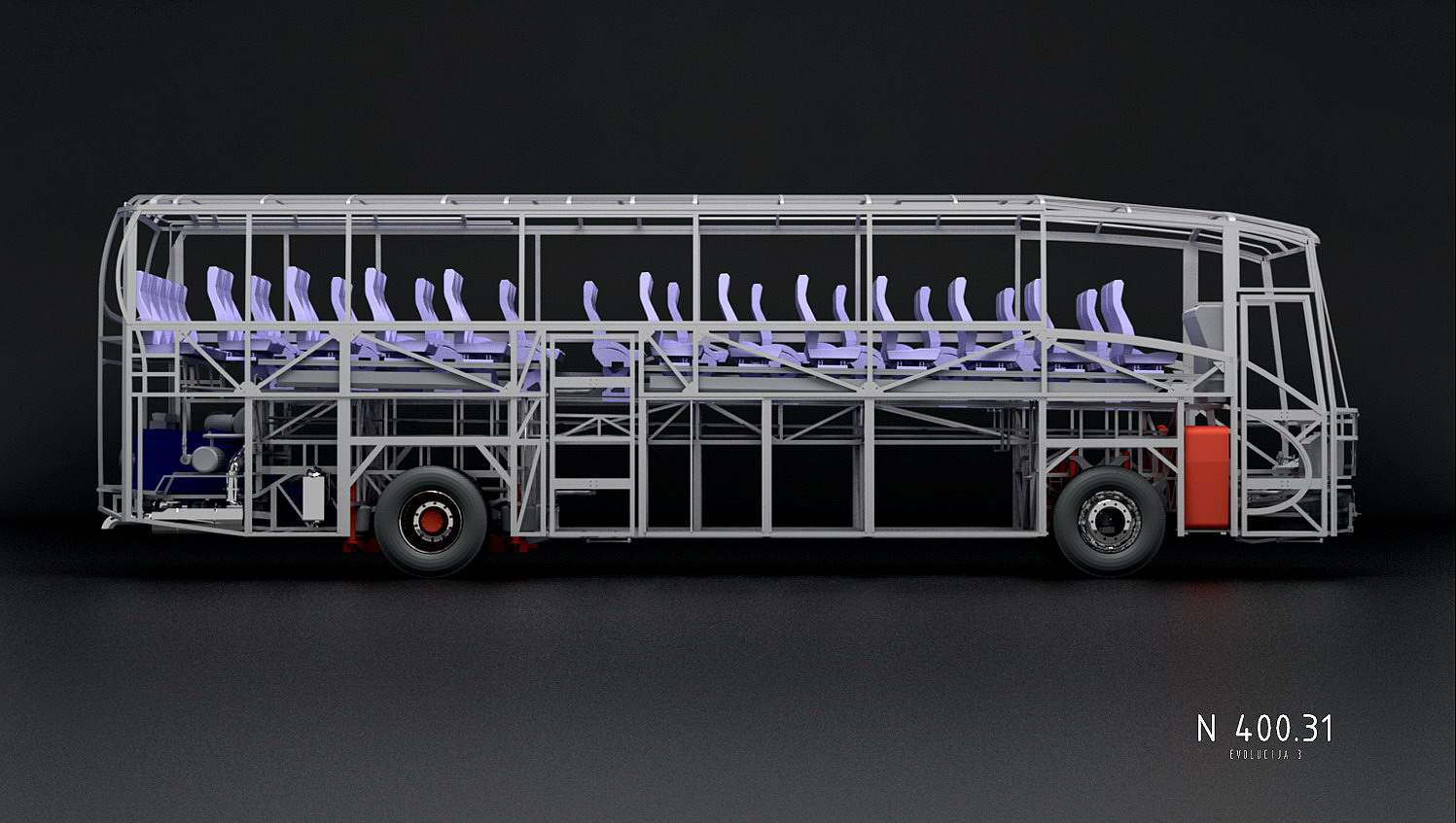 3D Produktvisualisering - Bus