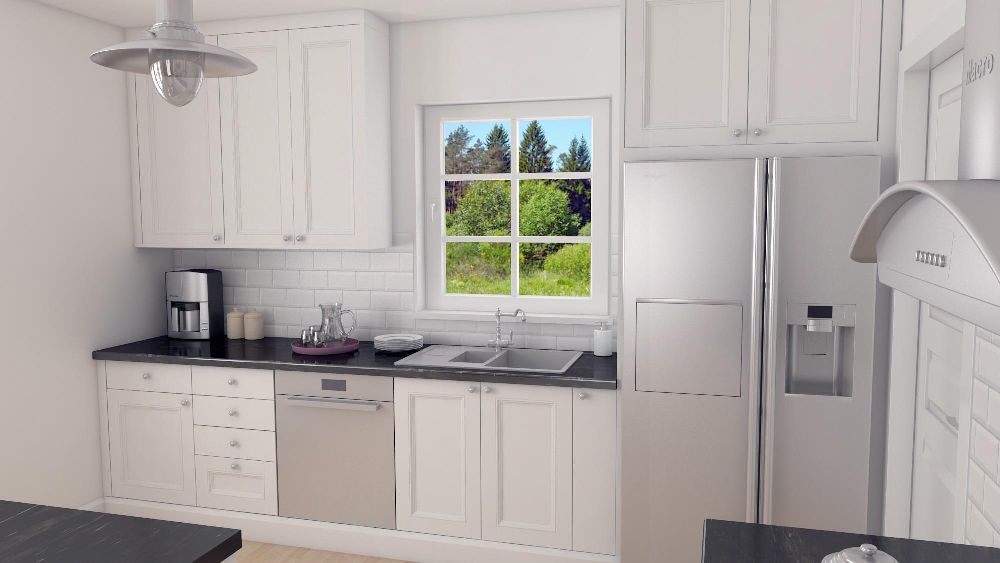 3D visualisering av kök