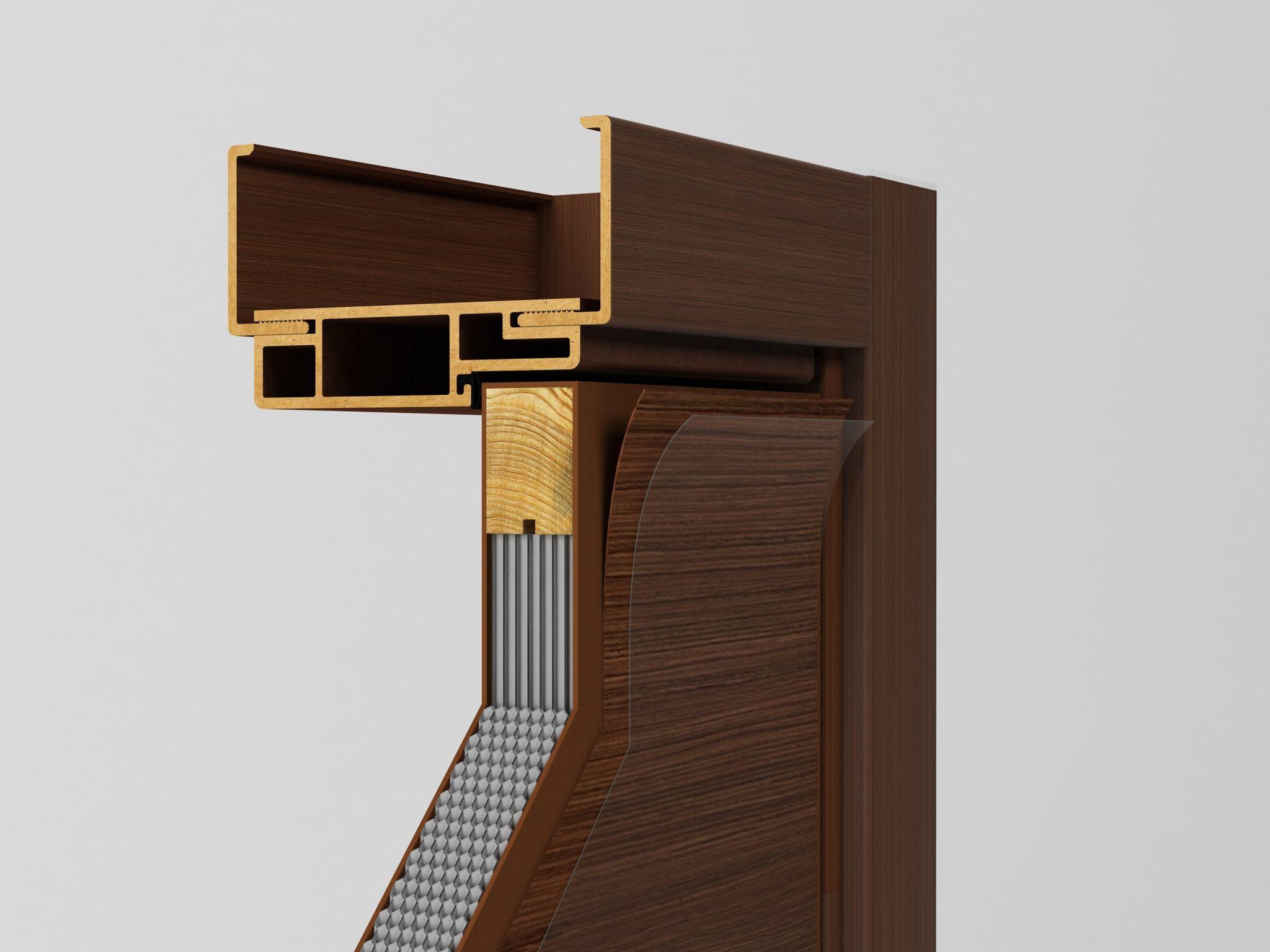 3D visualisering av dörr