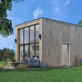 3d visualisering av småhus
