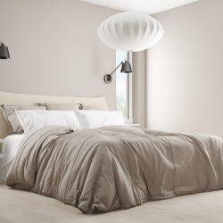 Ljus sovrum i 3d