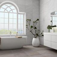 3D badrum med utsikt