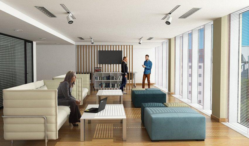 Kontorslokal i 3D